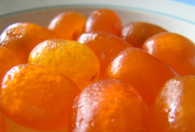 Китайские мандарины в сахарном сиропе