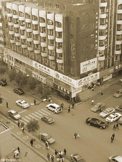 Утро в Китае